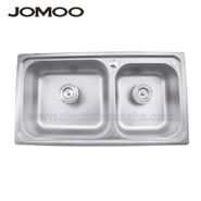 Bồn rửa inox đôi Jomoo