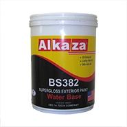 Sơn ngoại thất trắng siêu bóng cao cấp  Alkaza 5kg/thùng